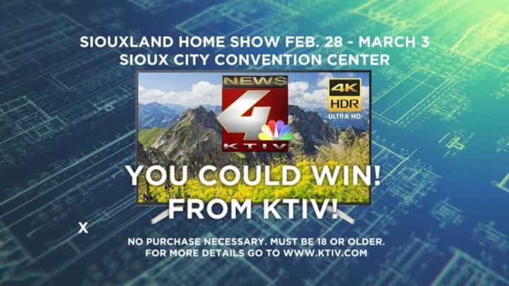 2019 Siouxland Home Show Giveaway Official Rules