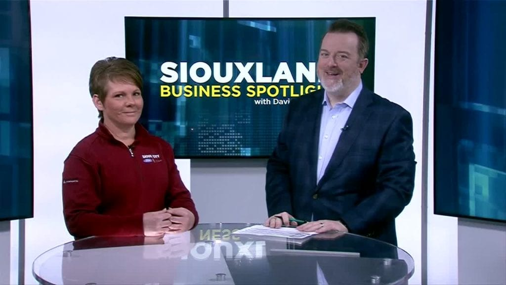Sioux City Ford >> Siouxland Business Spotlight Sioux City Ford Ktiv