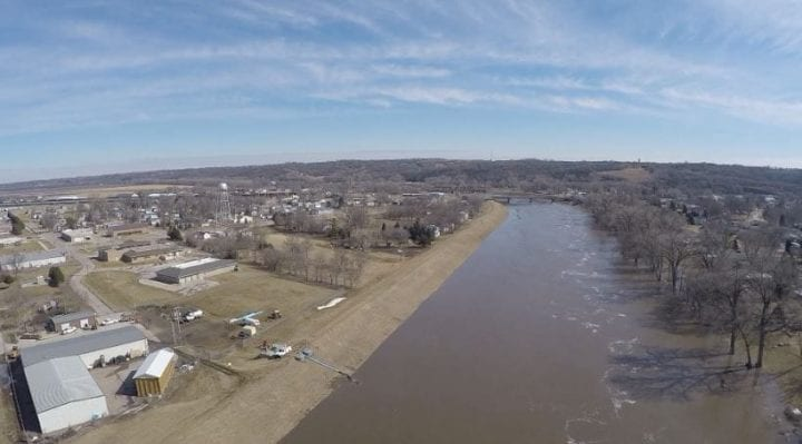 Missouri River expected to crest at 25 feet this weekend in Dakota Dunes
