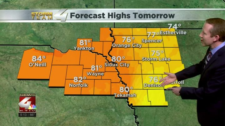 A gorgeous weekend on the way for Siouxland