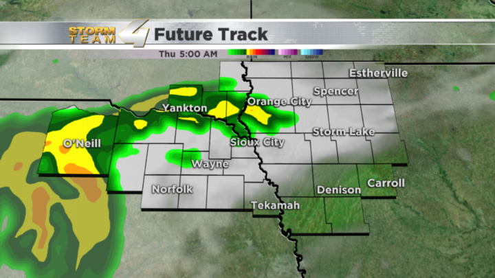 Rain chances return tonight into Thursday morning