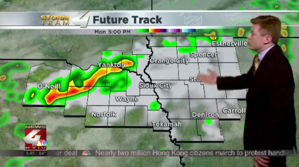 Storm chances return by the afternoon