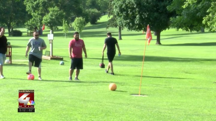 Friday Night Foot Golf League at Sun Valley Golf Course