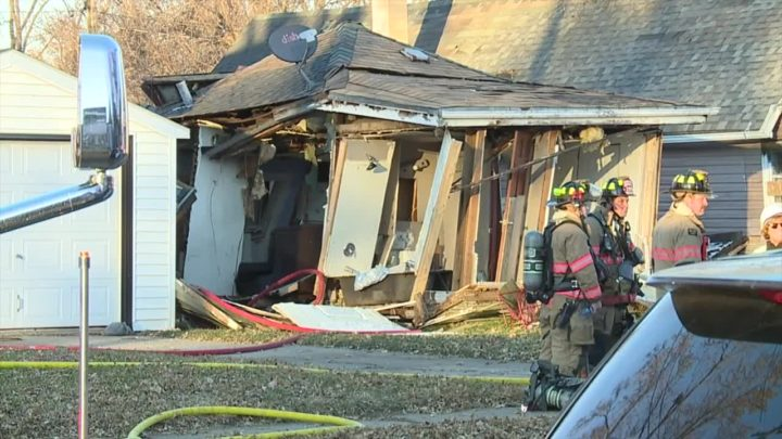 No one hurt in Sioux Falls house explosion