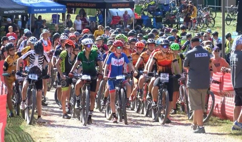 Student-athletes race in Minnesota High School Mountain Bike competition