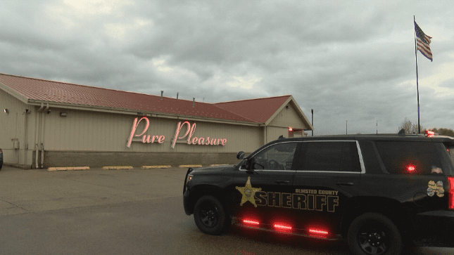 Search underway for man and woman after stabbing at Pure Pleasure