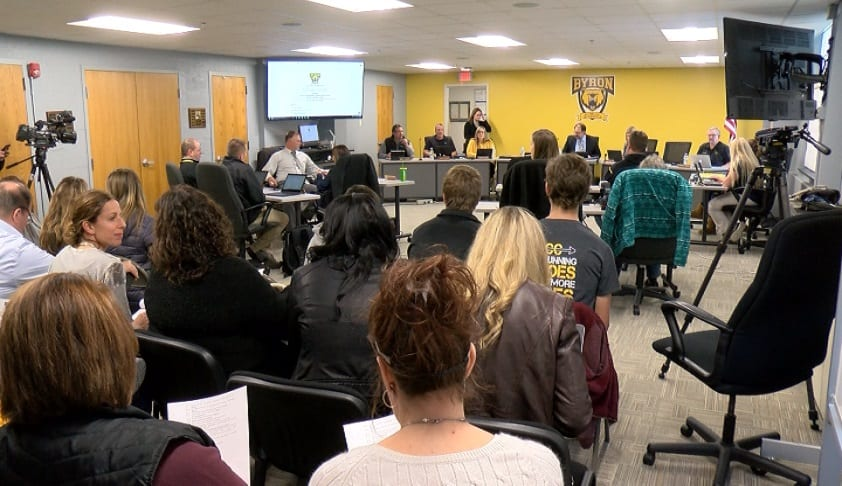 Concerned parents speak out at Bryon school board meeting