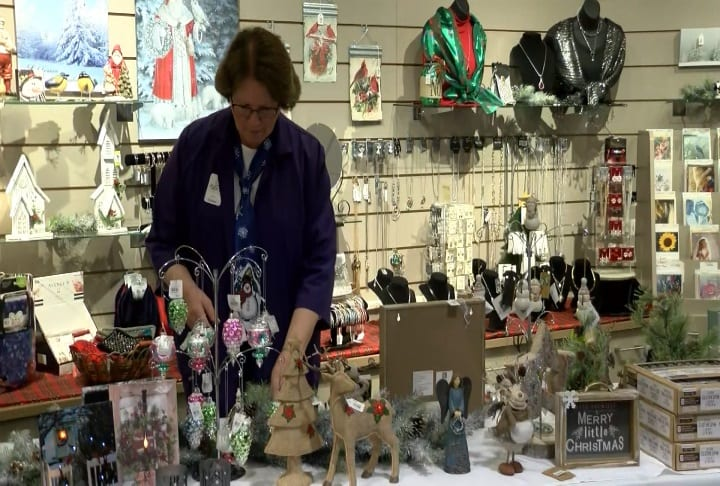 Naeve Hospital Auxiliary hosts annual holiday gift shop
