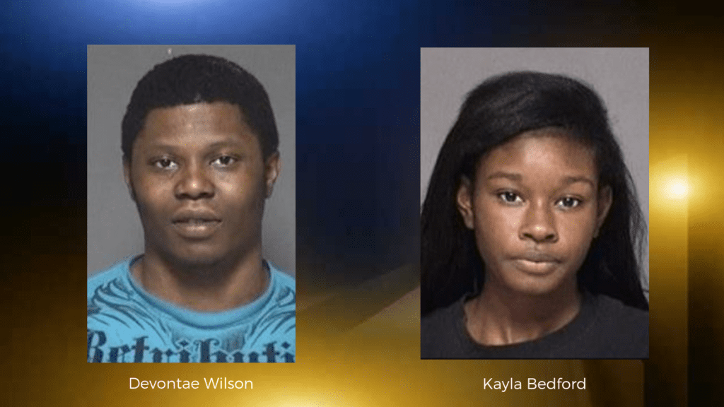 Sunday night robbery leads to two arrests
