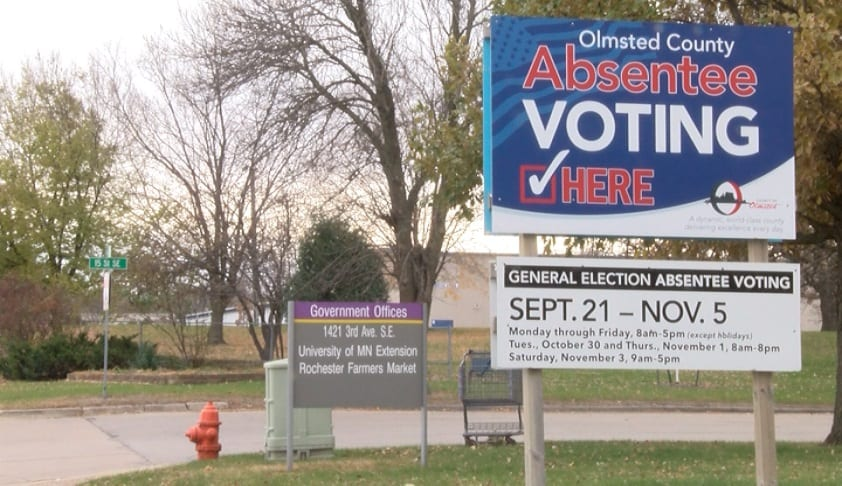 Olmsted County announces extended early voting hours