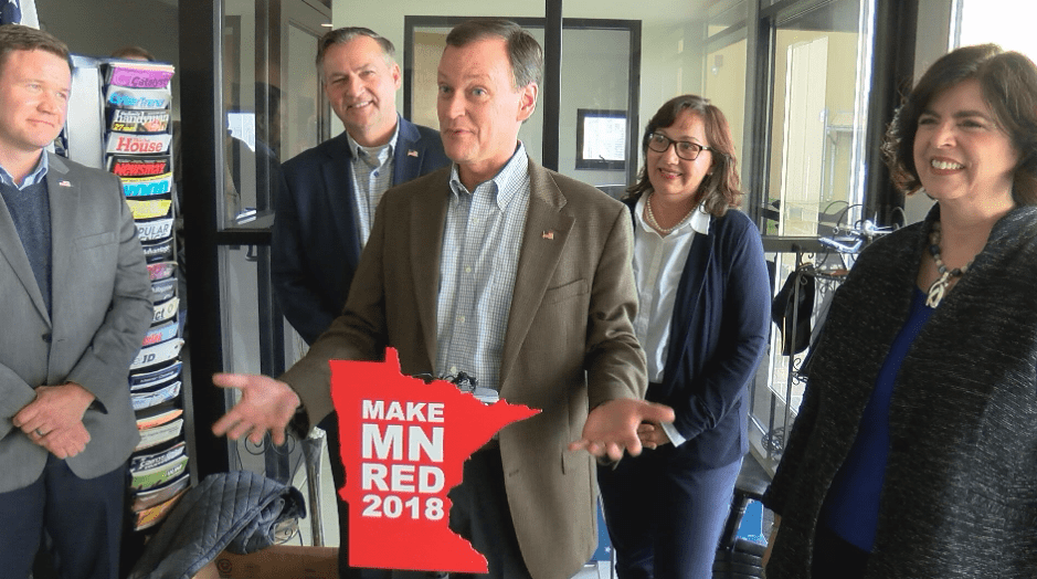 Minnesota Republican candidates ask for support in Austin
