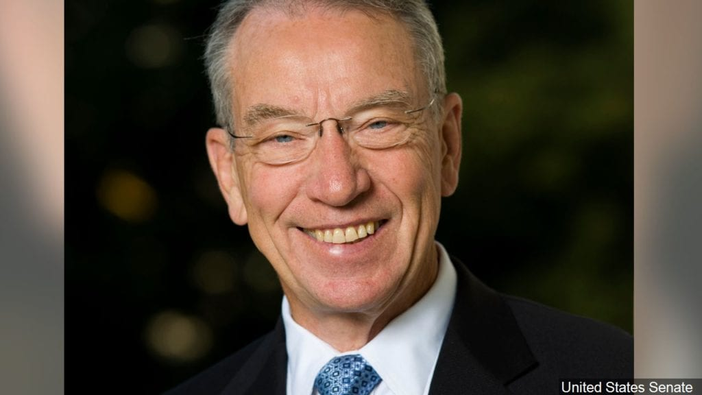 Sen. Grassley reacts to Pres. Trump's planned executive order on birthright citizenship