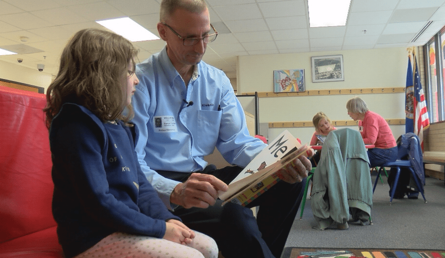 THE JEFFERSON AWARDS: Our November winner helps students learn to read
