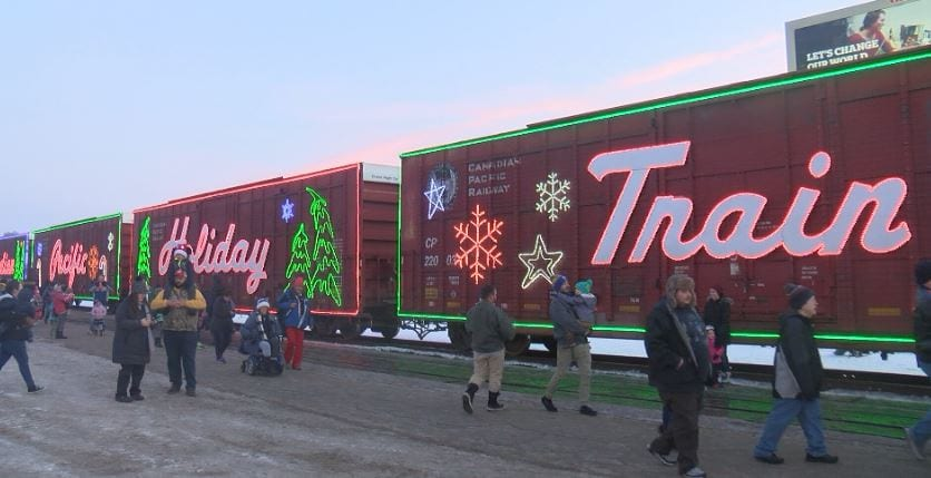 Canadian Pacific Holiday Train makes several stops throughout Minnesota