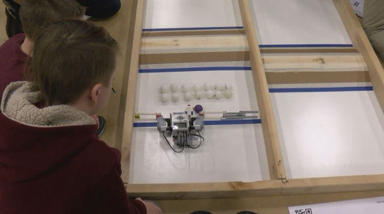 Annual IBM robotics competition teaches students teamwork and programming