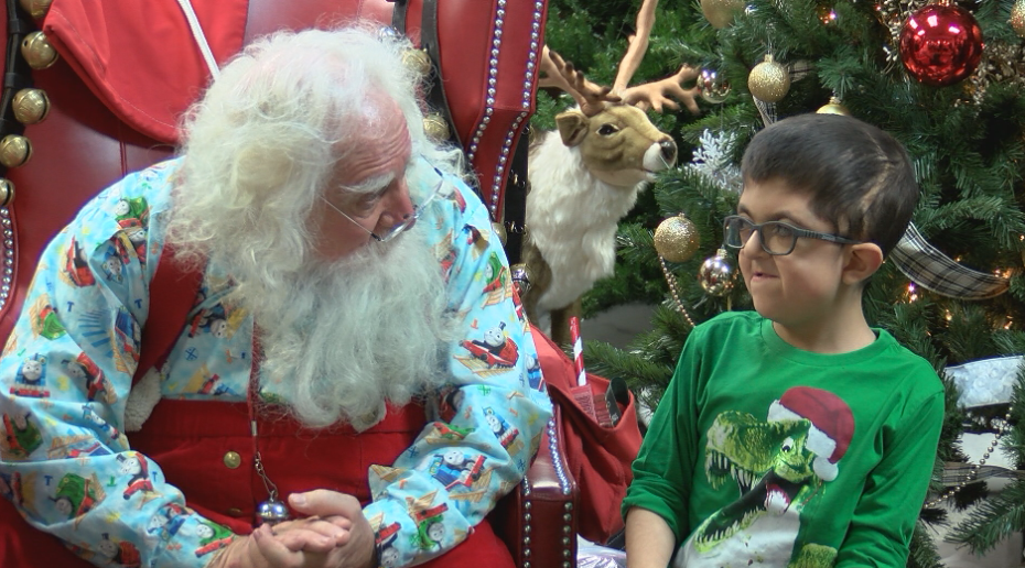 ABC & Toy Zone helps children with special needs visit Santa Claus