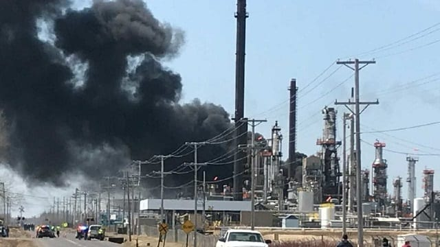 Valve hole cited as cause of Husky Energy Refinery fire
