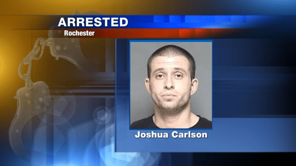 Man arrested after being caught in another person's garage