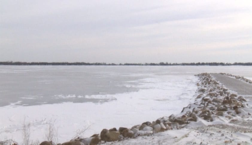 Two dead, including one child, after car falls through ice