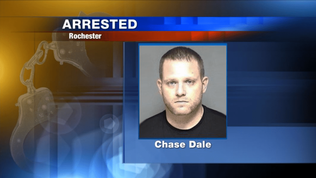 Rochester police arrest man breaking into a woman's home