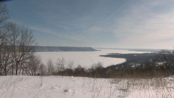 Sign that spring's almost here:  Army Corps measures Lake Pepin's ice thickness