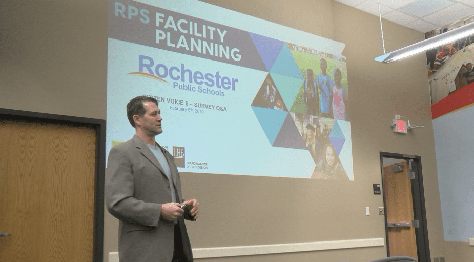 Rochester Public Schools Facilities Task Force answers questions about districtwide survey