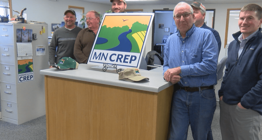 Brownsdale landowner gives Mower County first MN CREP conservation signup
