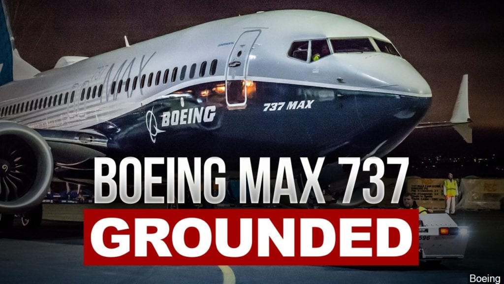 Trump announces US will order Boeing 737 Max 8s and 9s grounded