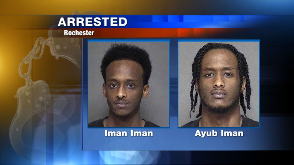 Two brothers arrested after drive-by shooting in NW Rochester