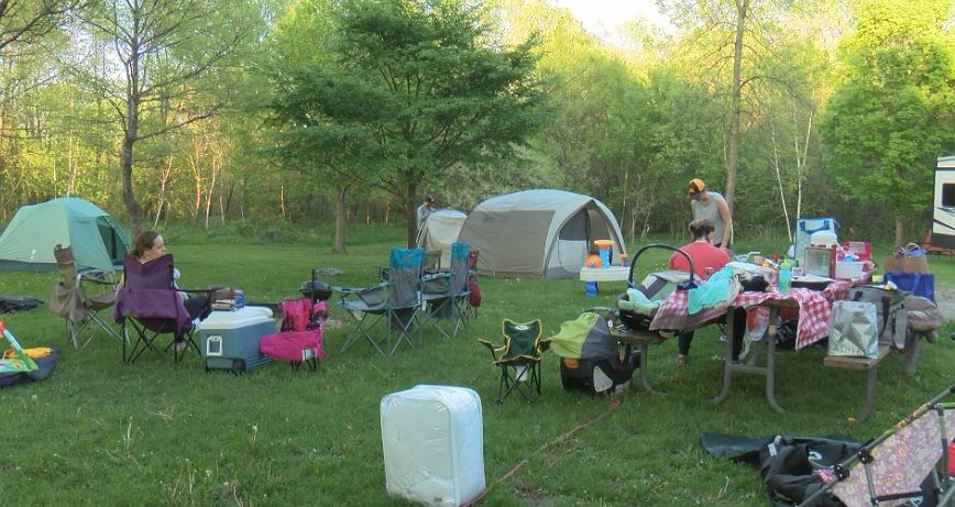 Campgrounds already filling up for Memorial Day Weekend