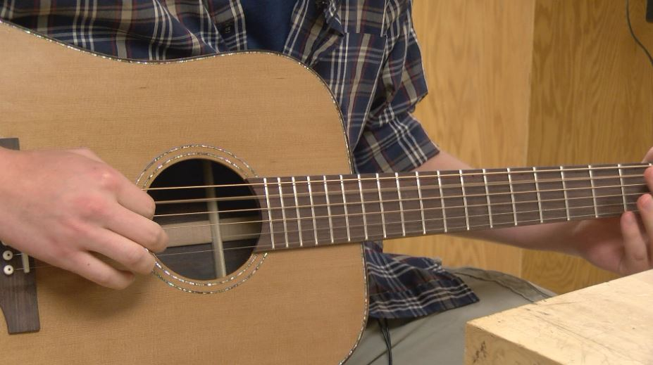 Professionals test out brand new instruments made by students