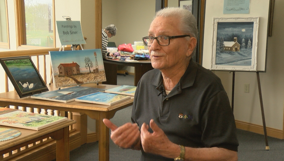 89-year-old Kasson man shows off painting prowess