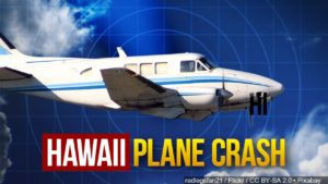 Hawaii plane crash graphic