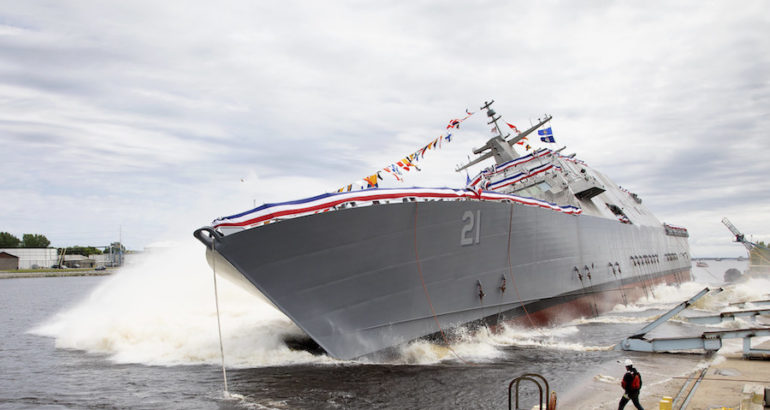 U.S. Navy: Duluth selected as commissioning site for USS Minneapolis – Saint Paul