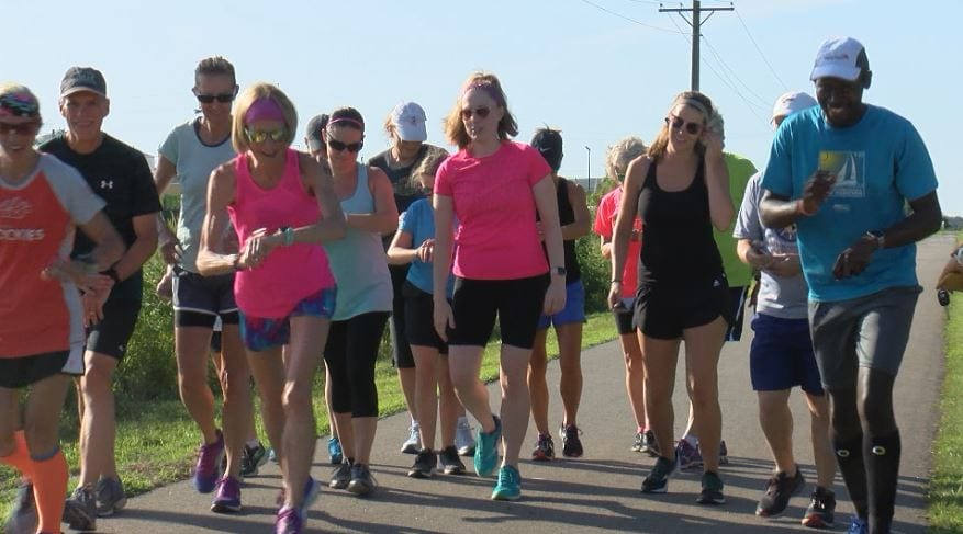 Rochester runners gather together for the seasons last 'pub run'