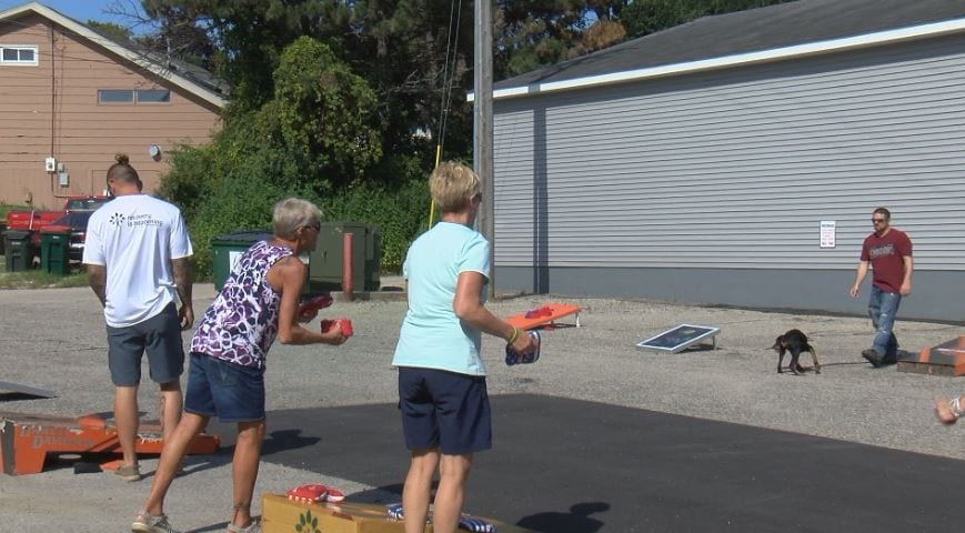Recovery is Happening hosts tournament to help expand their 'sober shelters'