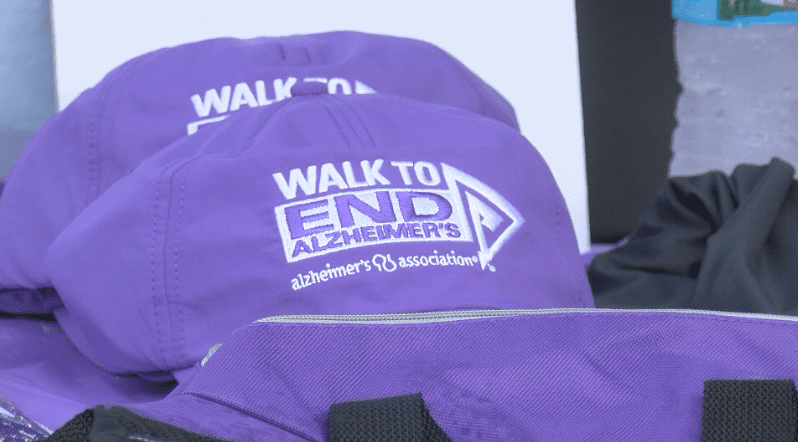 Walkers raise money to support Alzheimer's care and research