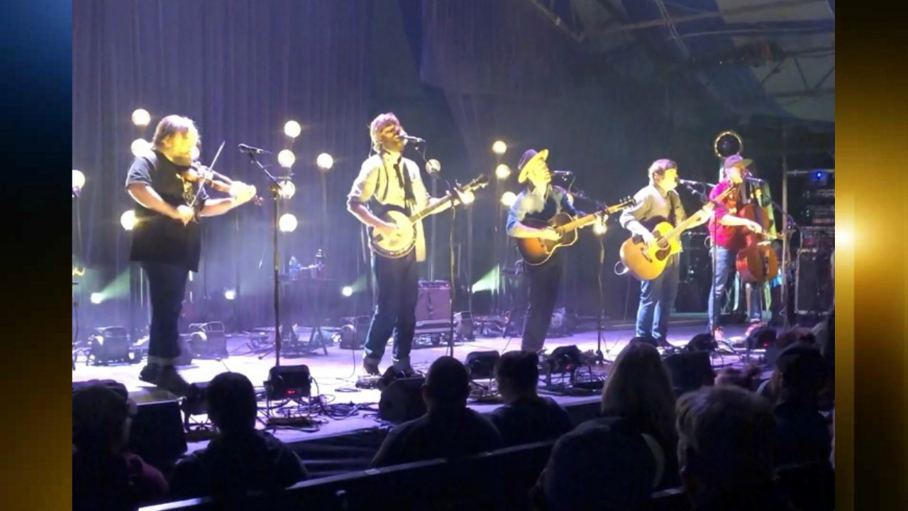 Band Trampled by Turtles in concert