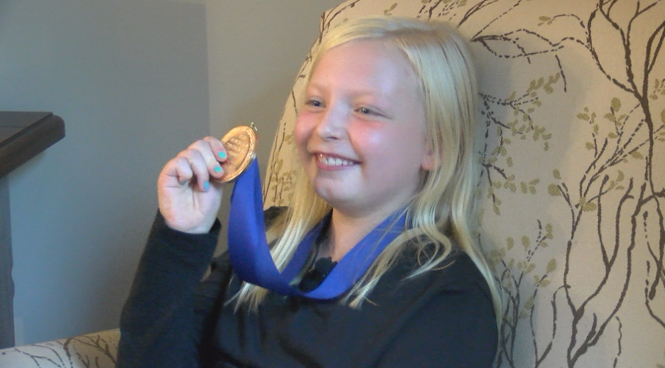 THE JEFFERSON AWARDS: 9-year-old Rochester girl is making a tremendous impact through various organizations
