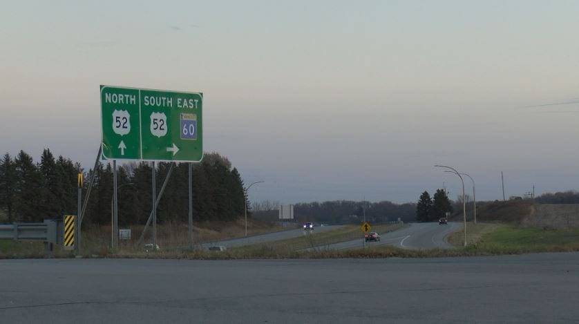 A new construction project on Highway 52 is set to begin