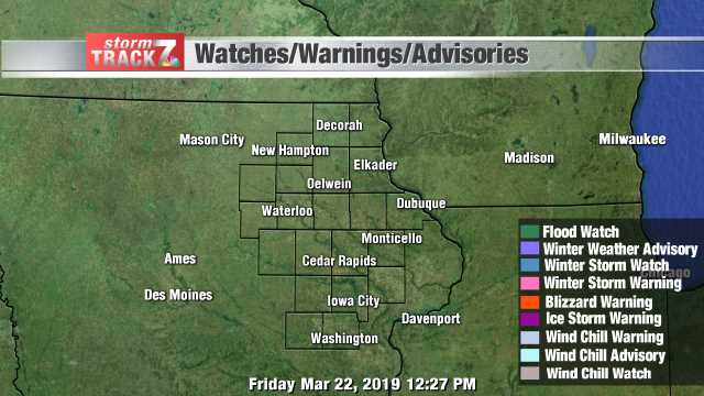 Iowa Watches/Warnings/Advisories
