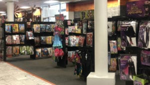 kwwls olivia schmitt visited spirit halloween in cedar falls to see how the store is getting ready for the big day