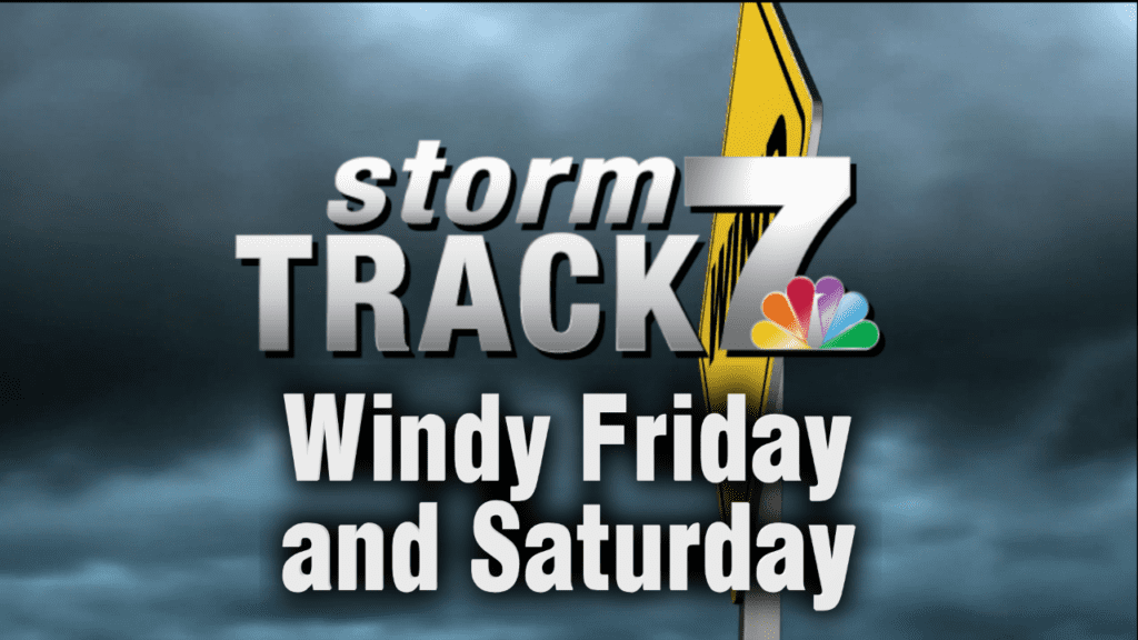 TRACKING: Windy conditions