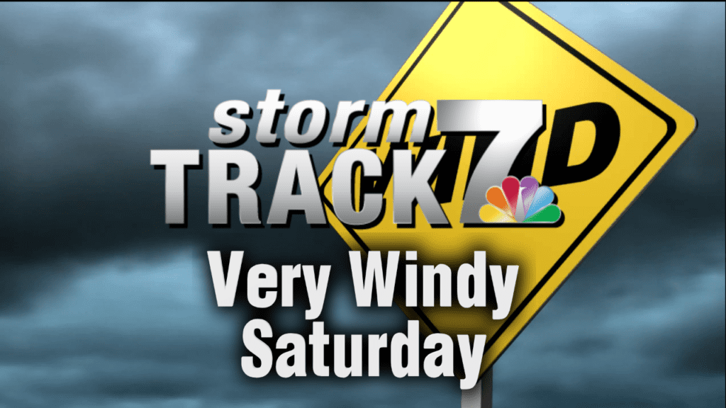 TRACKING: Very Windy & Cooler Saturday