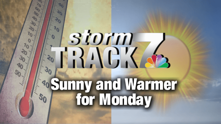 TRACKING: Lots of sunshine, but changing temperatures