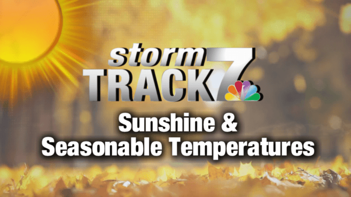 TRACKING: Sunshine and a cool down