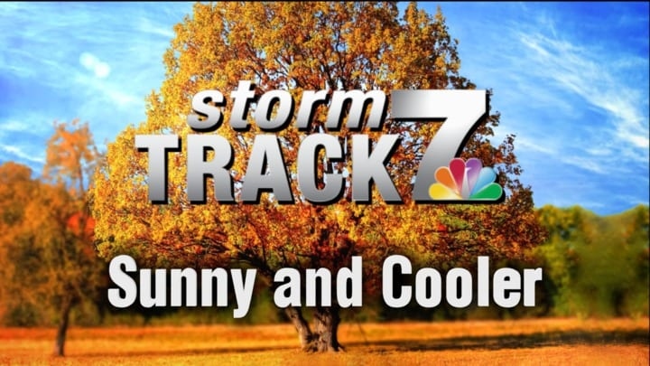 TRACKING: Cooler temperatures