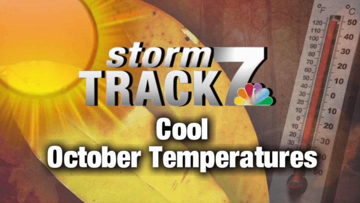 TRACKING: Sunshine and cooler temperatures
