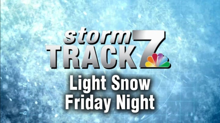 TRACKING: Snow is likely Friday night