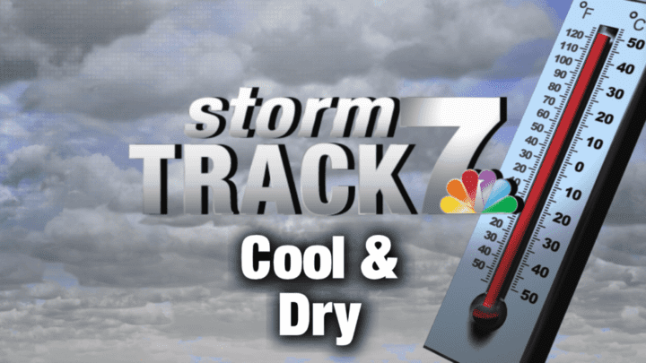 TRACKING: Chilly start to the week